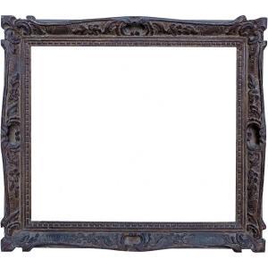 Montparnasse Style Carved Wood Frame- 52.2x44.2- Ref-938