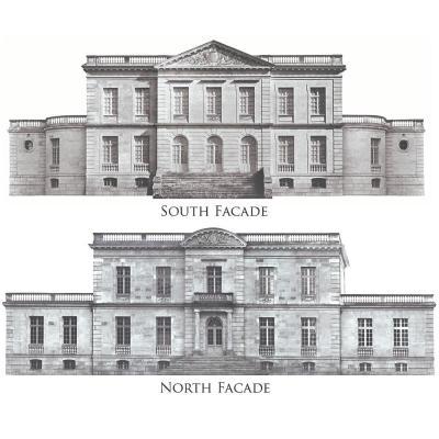 Façades de château français de 1890 - Calcaire - 5 389 pierres - Démontées, vérifiées - Le prix comprend l'expédition à la destination