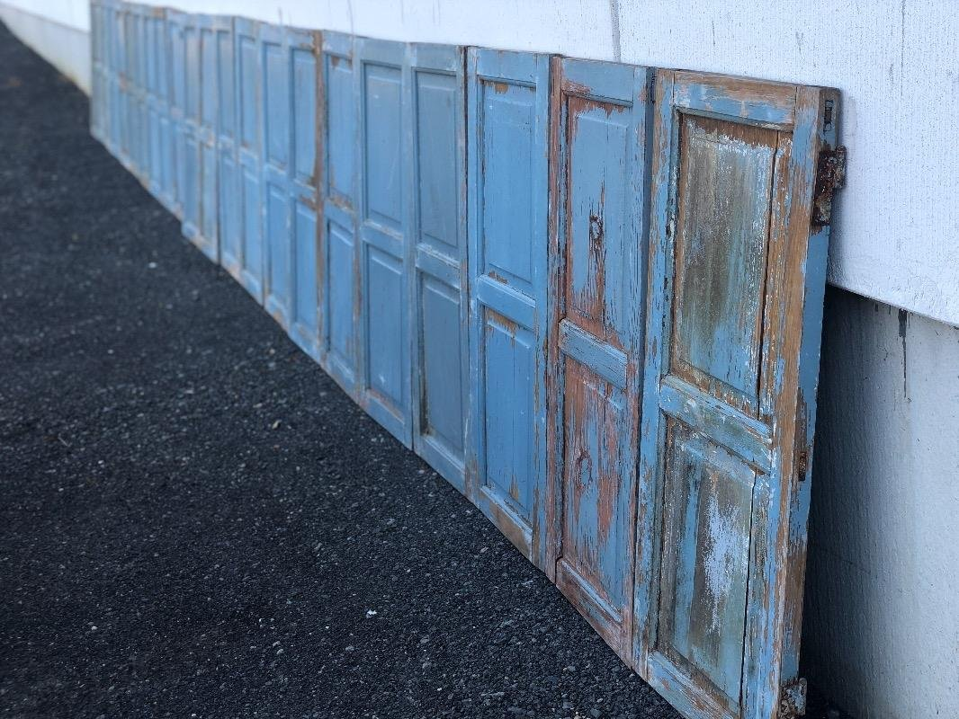 Suite Of 11 Pairs Of Shutters