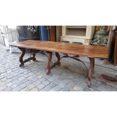 Table Espagnole En Noyer