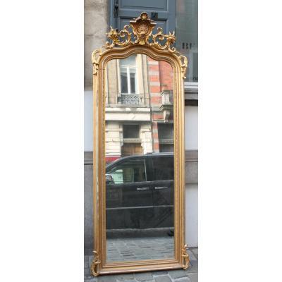 Miroir Rococo De Style Louis XV