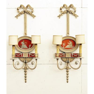 Pair Of Louis XVI Style Sconces