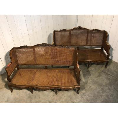 Pair Of Regence Benches