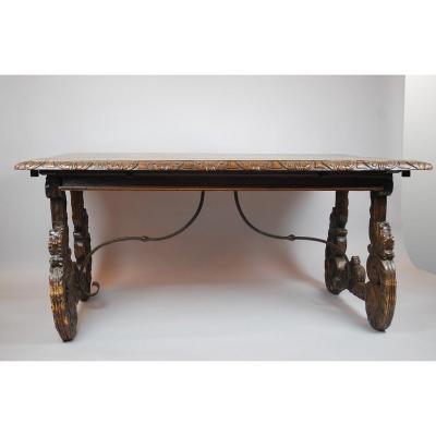 Spanish Walnut Table