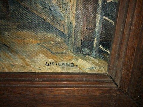 Intérieur Hollandais Weilland 19ème-photo-1