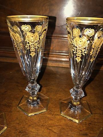 Harcourt Baccarat Empire Flutes-photo-2