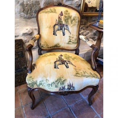 18th Queen Armchair