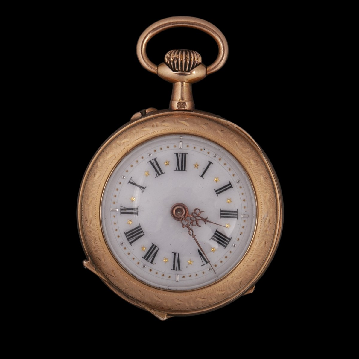 Small 18k Gold Pocket Watch