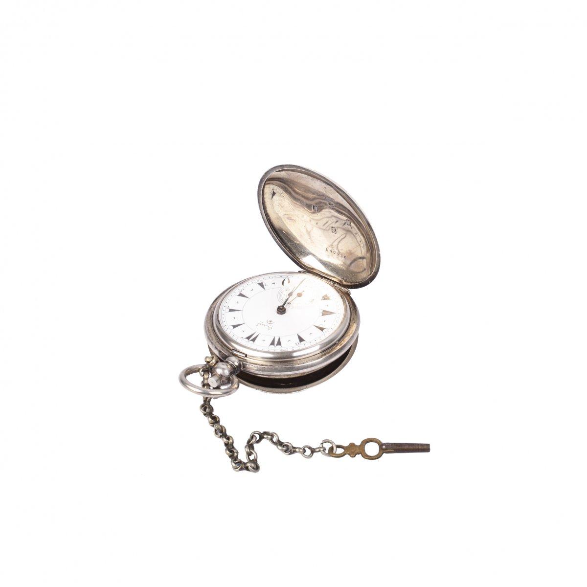 Turkish Silver Pocket Watch
