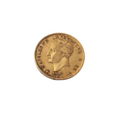 40 Lire Coin Napoleone 1812