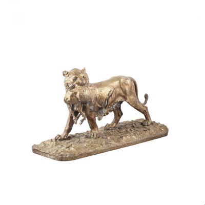 Sculpture Animalière d'un Lion