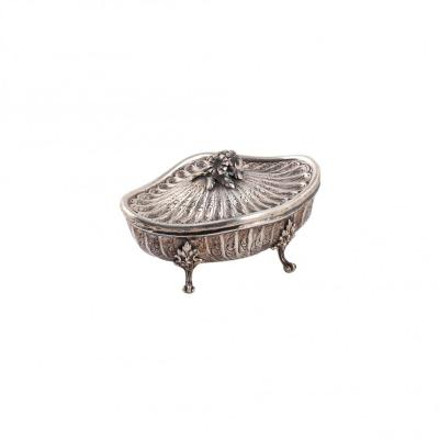Silver Vase With Lid