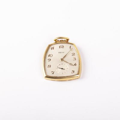 18k Gold Zodiac Pocket Watch France