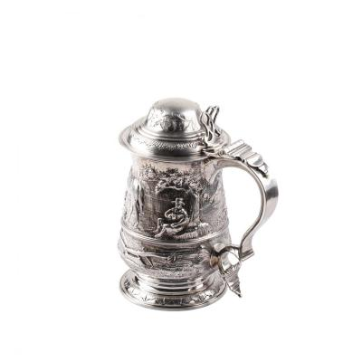 George III Silver Tankard By William Cripps London 1774