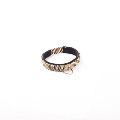 14k Gold Russian Bracelet