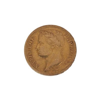Gold 40 Franc First French Empire Napoleon 1810