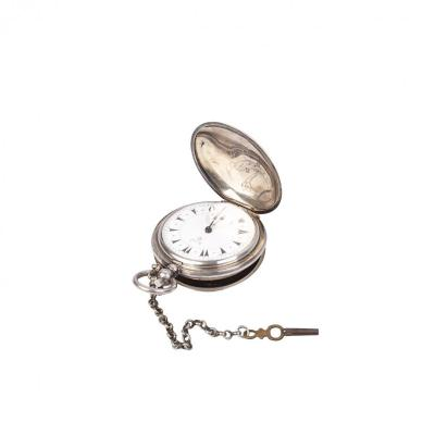 Turkish Silver Pocket Watch