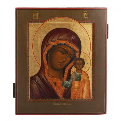 Russian Icon Of Kazanskaya Mother Of God