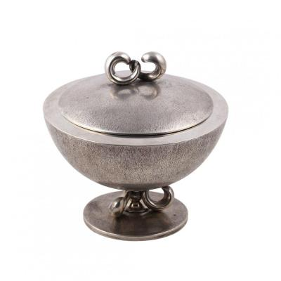 A Silver Sugar Bowl By Missiaglia