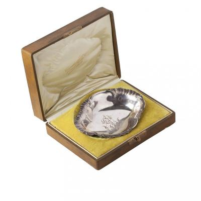 Small Silver Serving Dish, Maison Cardeilhac