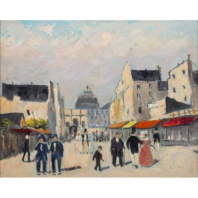 Elie-anatole Pavil (french, 1873-1948) Paris