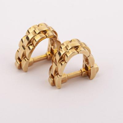 18k Gold Cartier Cufflinks