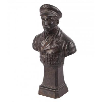 Un Buste En Bronze Français