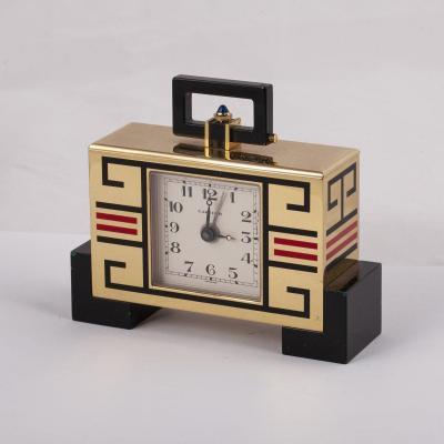 Cartier, Pendulette De Style Art Déco à Quartz Numérotée 00004