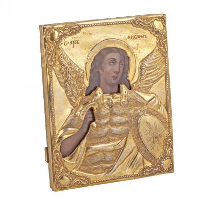 Russian Icon Of Archangel Michael