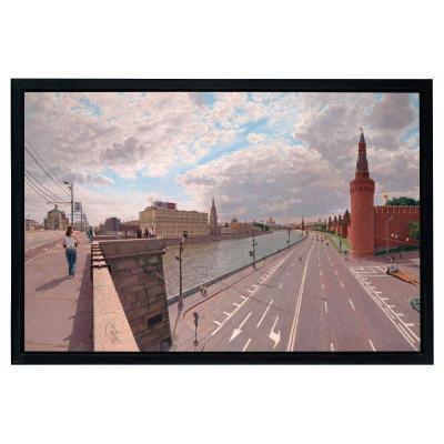 Clive Head (né en 1965) Nuages au-dessus de la rivière Moskva