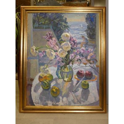 Russian Painting Sergueeva N