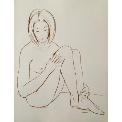 "Original Drawing ""naked"""