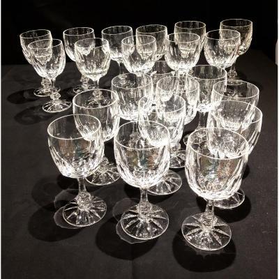 Daum Crystal Glass Service