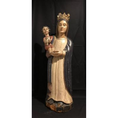 18th Century Virgin And Child