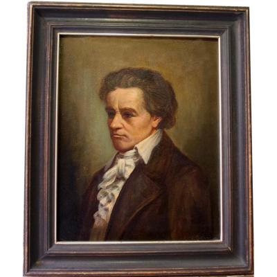 Portrait Of The  Composer Beethoven