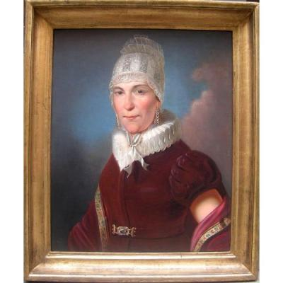 Portrait d'Une Dame par Johann Baptist Lampi Senior (1751-1830), Cercle de