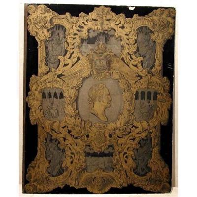 Rare Album: Nikolaus I. de Russie : Une Lettre d'Obéissance Et De Donation Au Tsar, Daté 1850