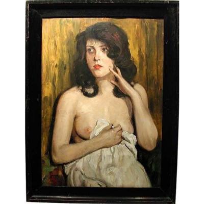 Beauté confuse par Sándor (Alexandre) Józsa (hongrois 1910 - 1989)