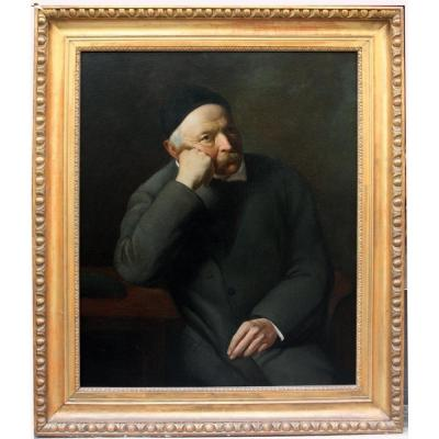 Friedrich Amerling (austrian, 1803 - 1887), Attr.  Portrait Of A Scientist