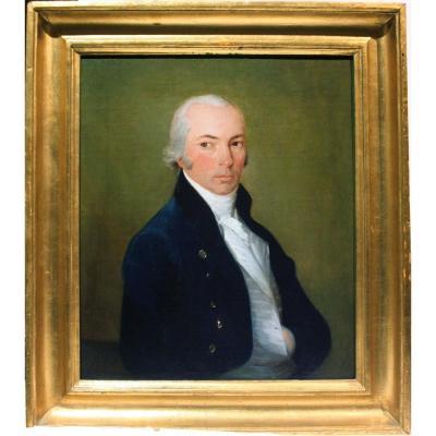 Johann Friedrich August Tischbein (1751 - 1812) Portrait d'un Noble