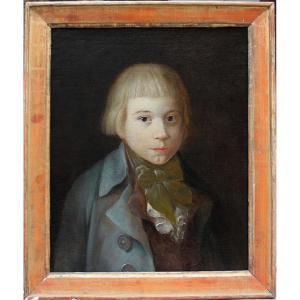 Portrait d'un  garçon, Barbara Krafft (autrichienne 1764 - 1825) , attributé