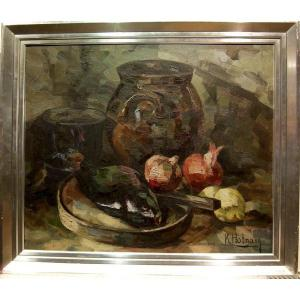 Karl Hoffmann (1893-1972) Nature Morte