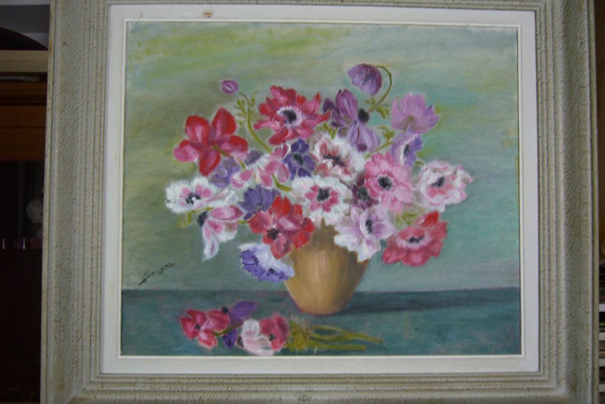 Bouquet d' Anemones  Sampieri Corse