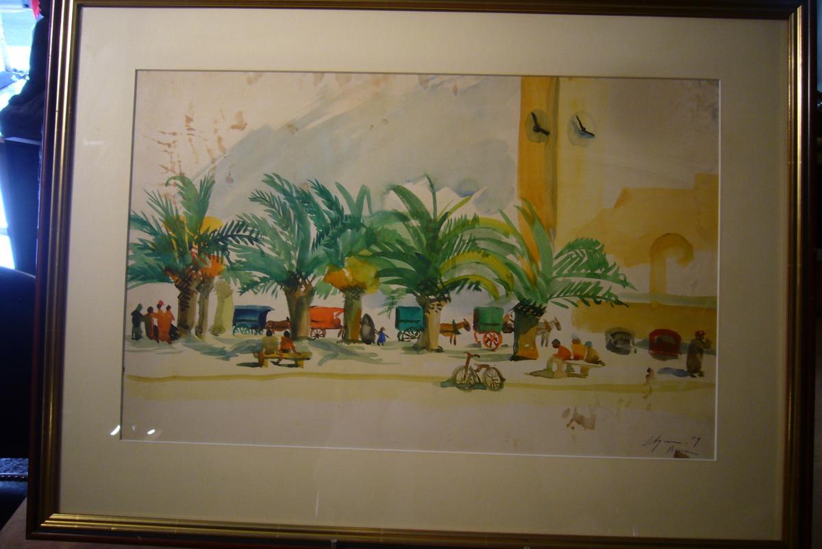 Place De Village Environs de BONE  ALGERIE