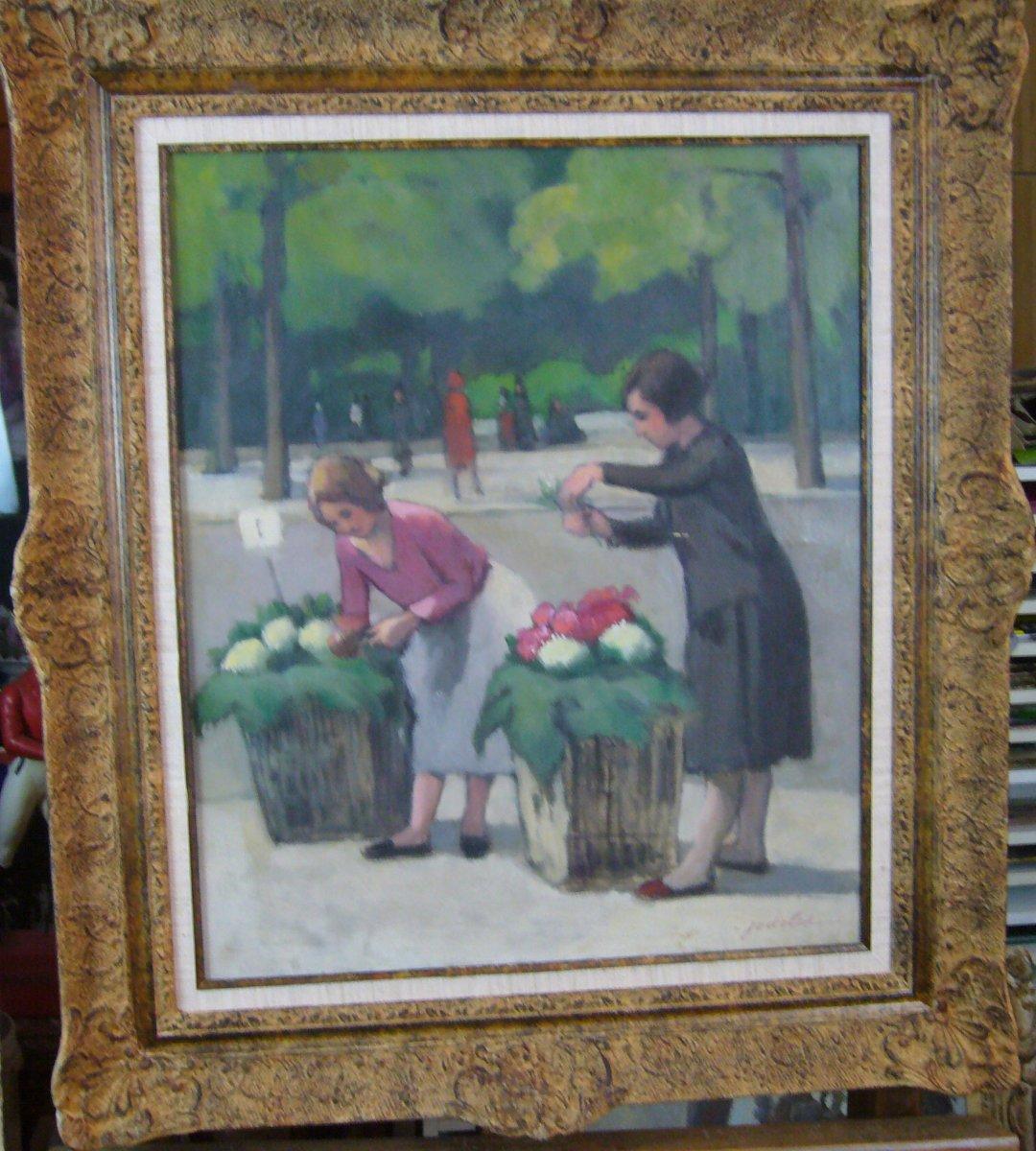 Marchandes  de Fleurs à PARIS