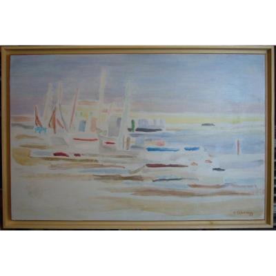 Paysage Maritime Côte Varoise  Theodore SCHEMPP
