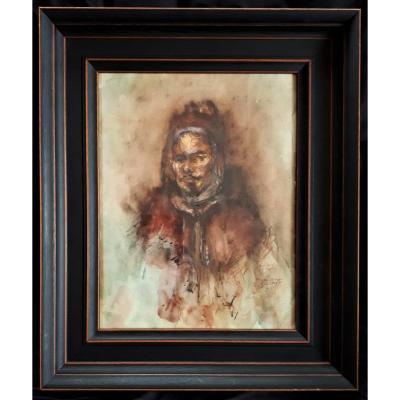 Rosaty - Portrait Orientaliste
