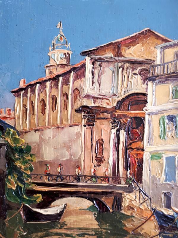Carmignani Virgilio- Martigues, Cathédrale De La Madeleine.-photo-2