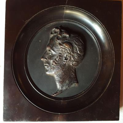Portrait En Cire Du Roi Charles X Vers 1830 - Tondo