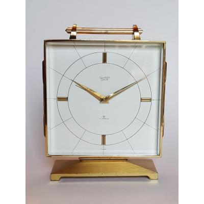 "Horloge De Bureau - Réveil  ""silvana Swiza""  Fabrication Suisse"